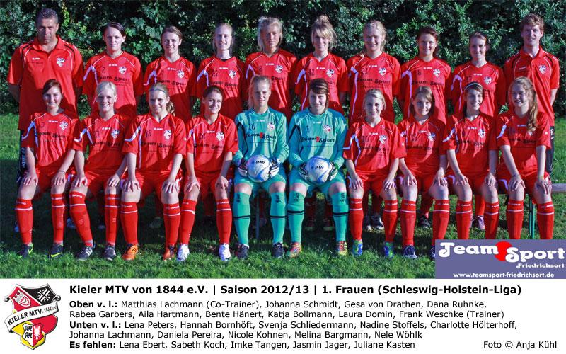 1 Frauen Kmtv Mein Fussball Kieler Mtv Von 1844 E V